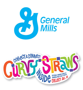 Big G Curvy Straws logo Curvy Straws in Big G Cereals   Drink Your Cereal