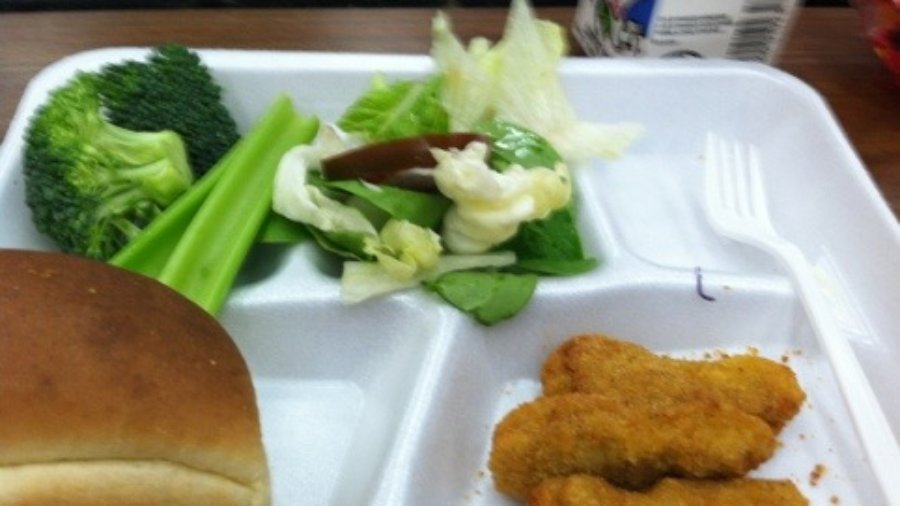 You think soda and candy causes childhood obesity what about school lunch