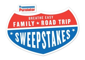 Purolator BEFR41 300x210 The Family Road Trip Sweepstakes