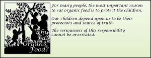 organics for kids 300x116 GMO is Bullshit and Organic is a Scam
