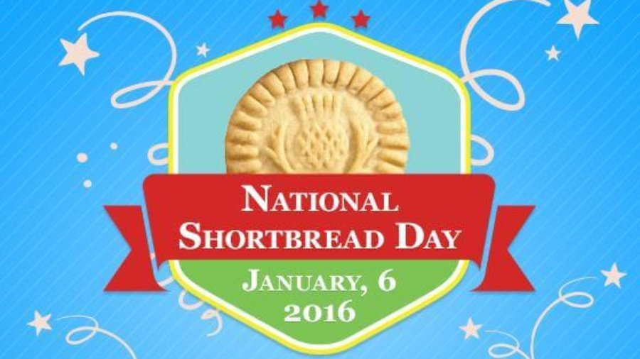 national shortbread day January 6, Walkers shortbread, scottish shortbread