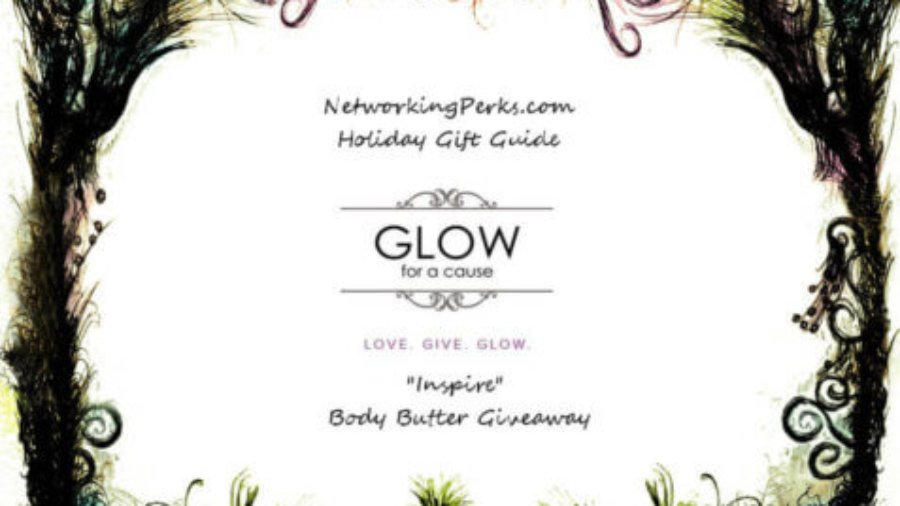glow for a cause, body butter, organic lotion