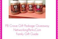 PB Crave Giveaway & Peanut Butter Cookie Recipe