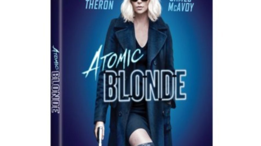 atomic blonde, dvd, movie night,