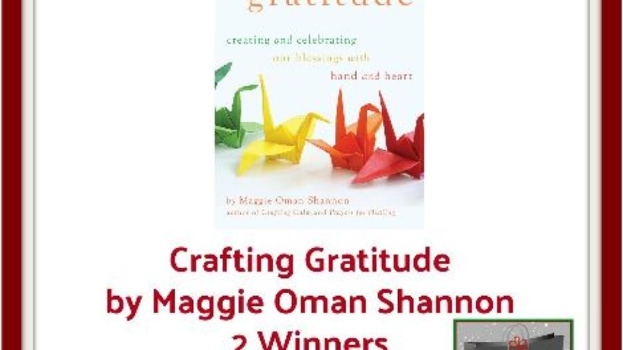 crafting gratitude, origami, self care